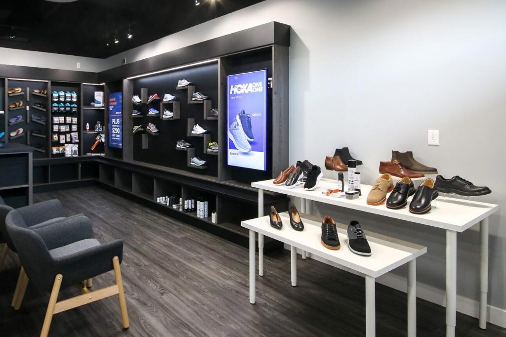 Kintec shoe store
